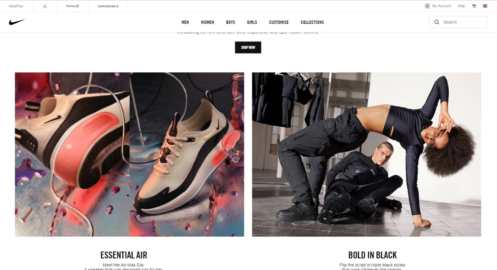 d92c55cb Купить Nike в Англии с доставкой в Россию, Украину Казахстан и СНГ.
